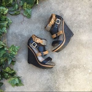 Shoes - MIA Frida Wedges